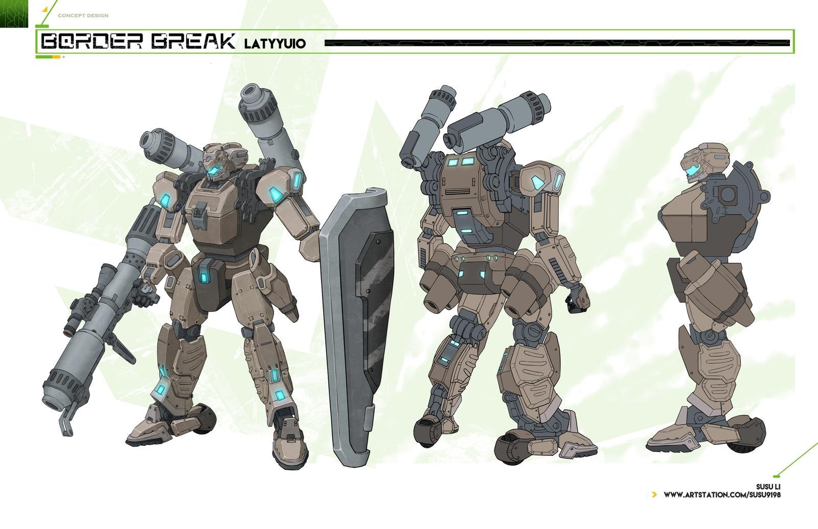Latyyiuo - Boarder Break