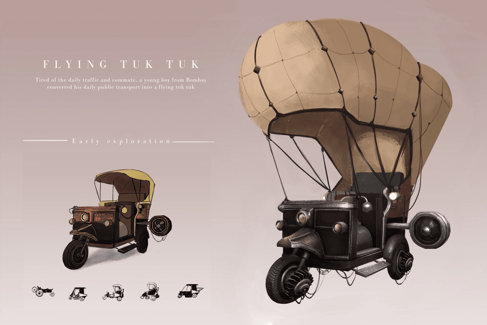 Flying Tuk Tuk
