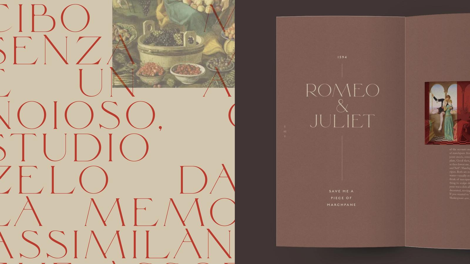 Palette // Renaissance Cookbook