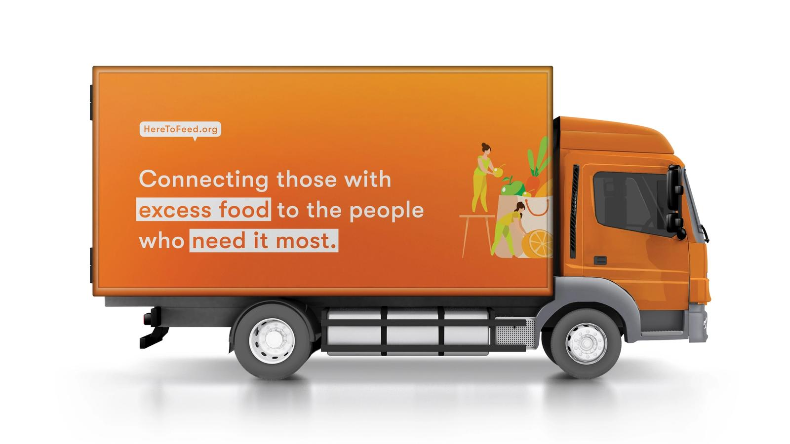 Here to Feed // Food Waste Solution