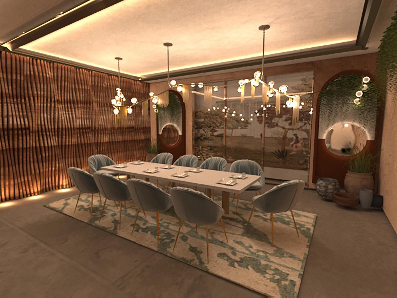 Raw Luminaire - Private Dining Area 1