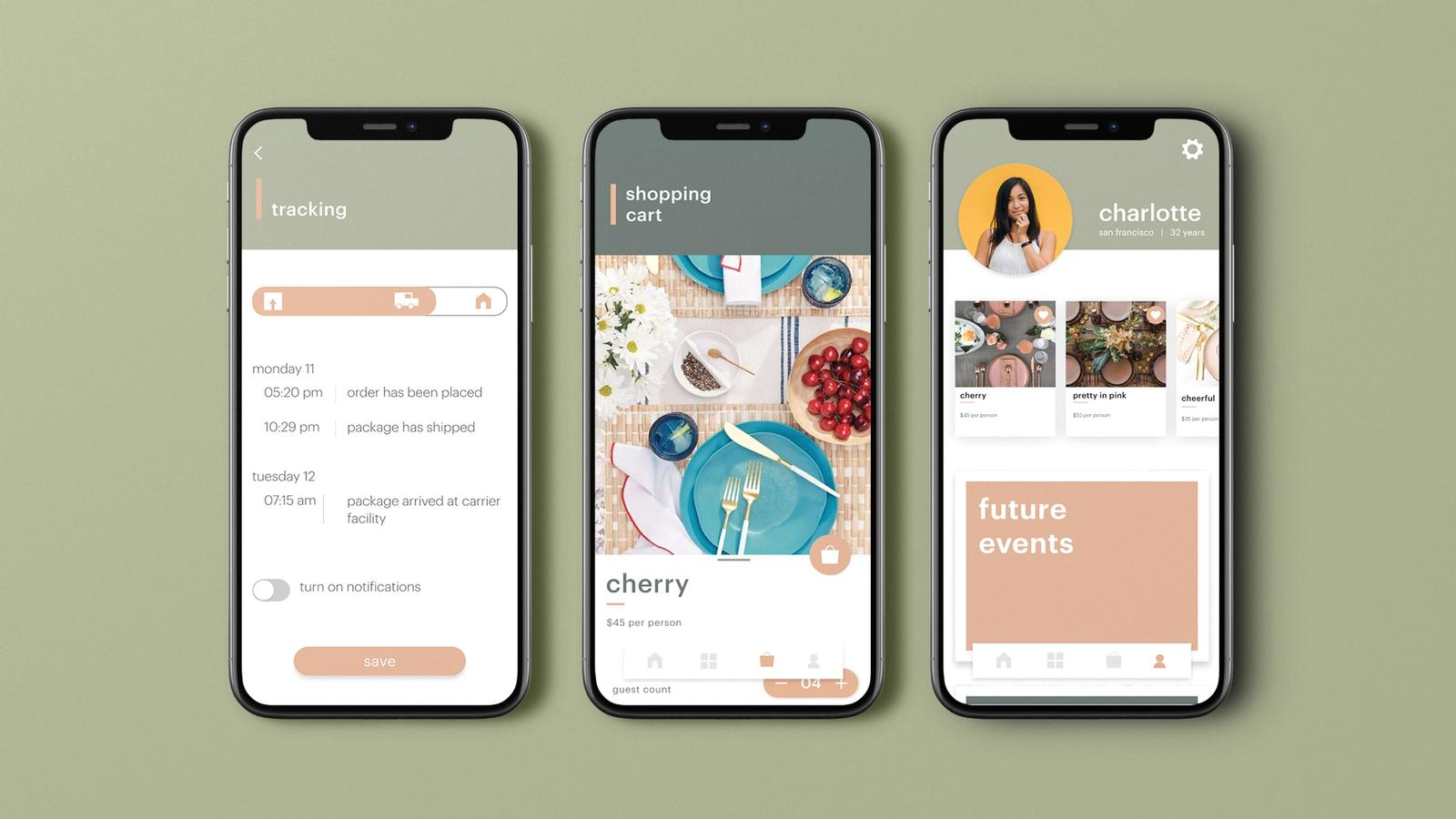 Social Party // Mobile Application