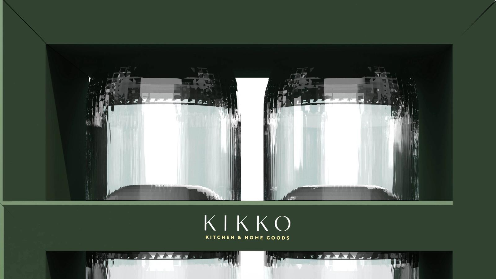 Kikko Glassware // Product Packaging