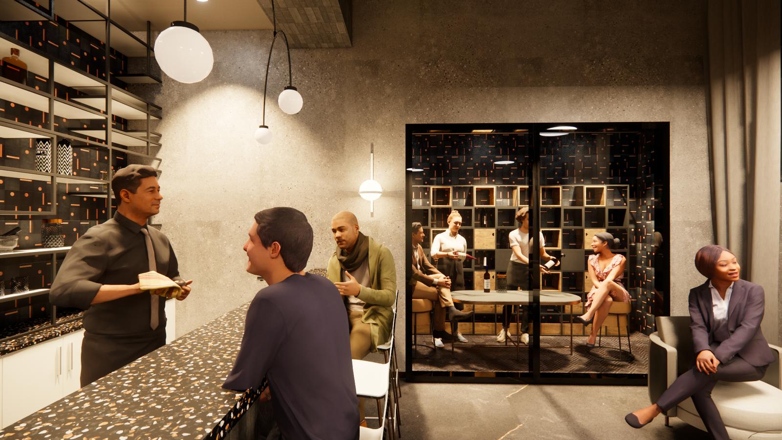 Hyphy Bar - Wine Room