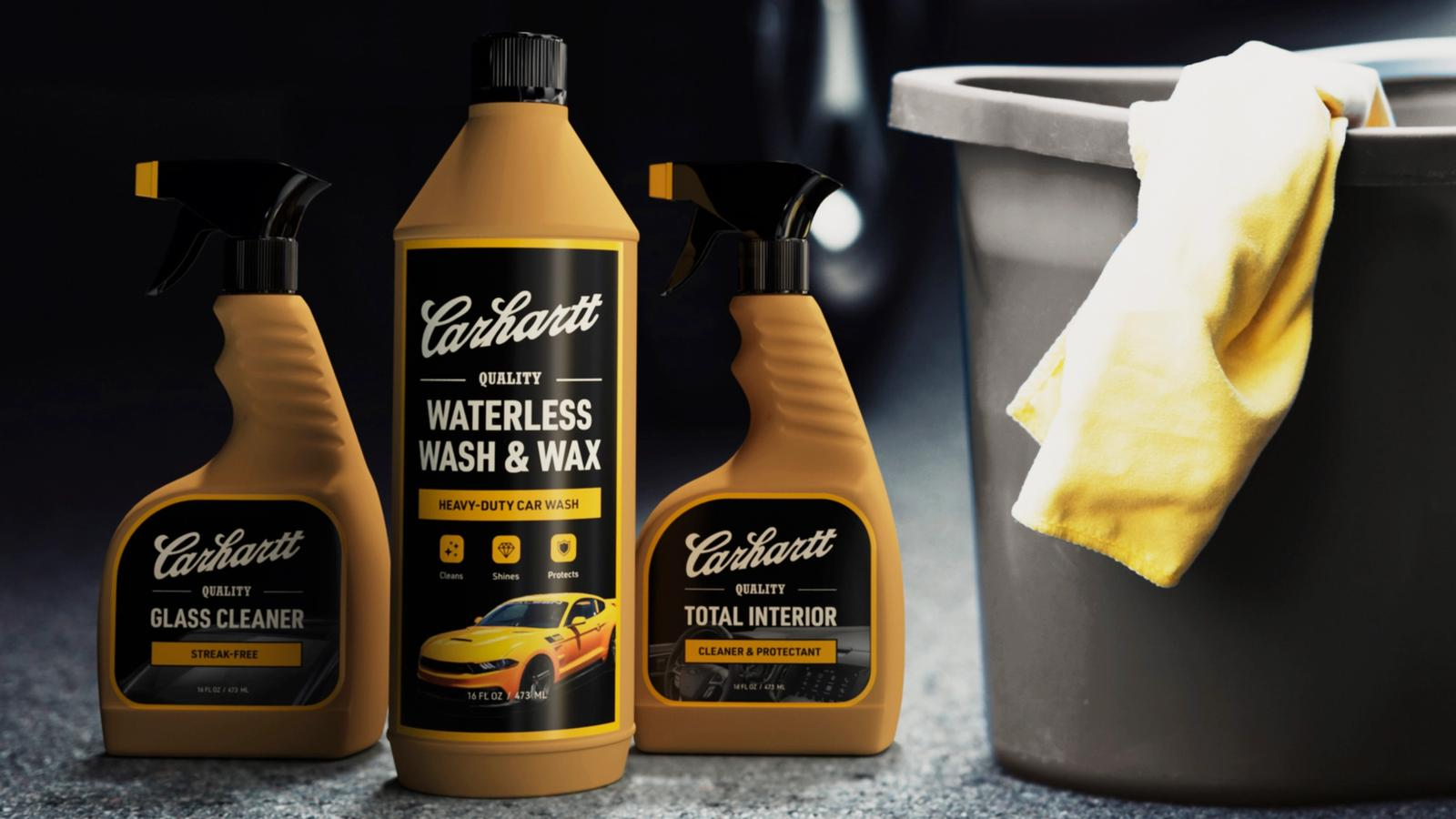 Carhartt Car Wash Products // Packaging