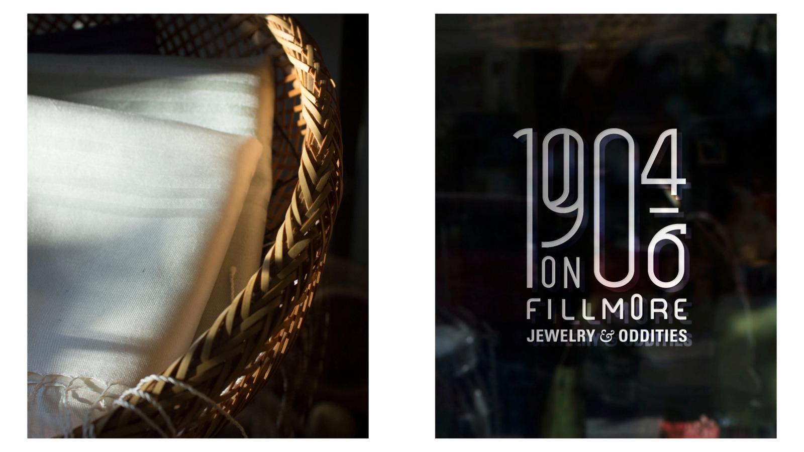 1904-1906 on Fillmore // Retail Store Window
