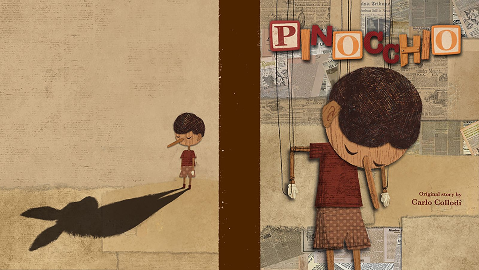 Pinocchio Book cover