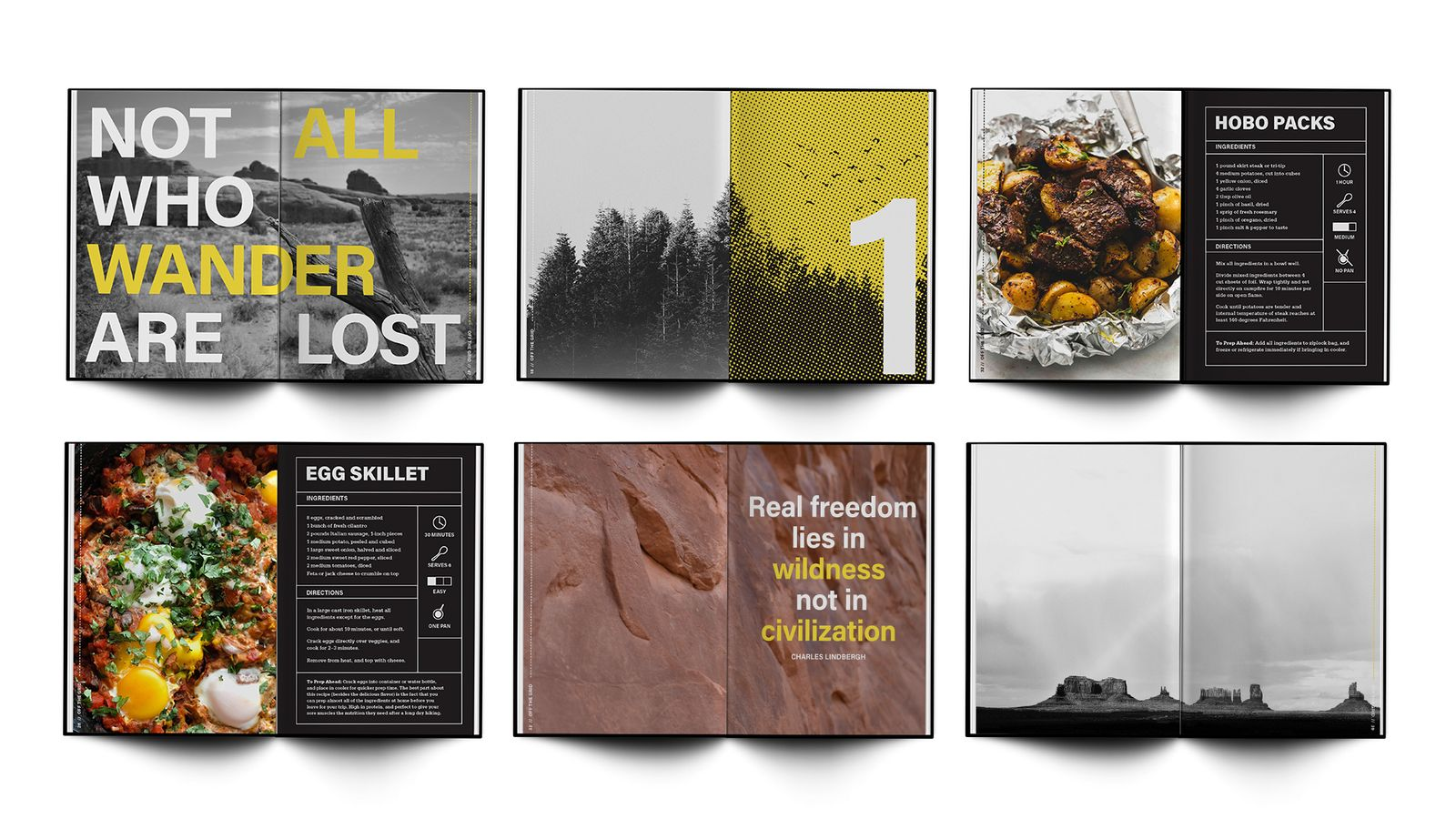Off the Grid // camping and hiking cookbook for REI