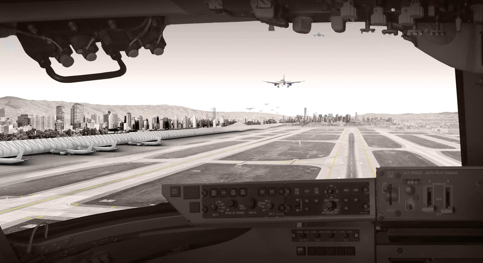 Dana Kaddouh Aviopolis - Aerial View from Cockpit