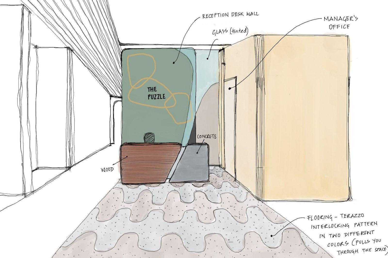 Reception Sketch