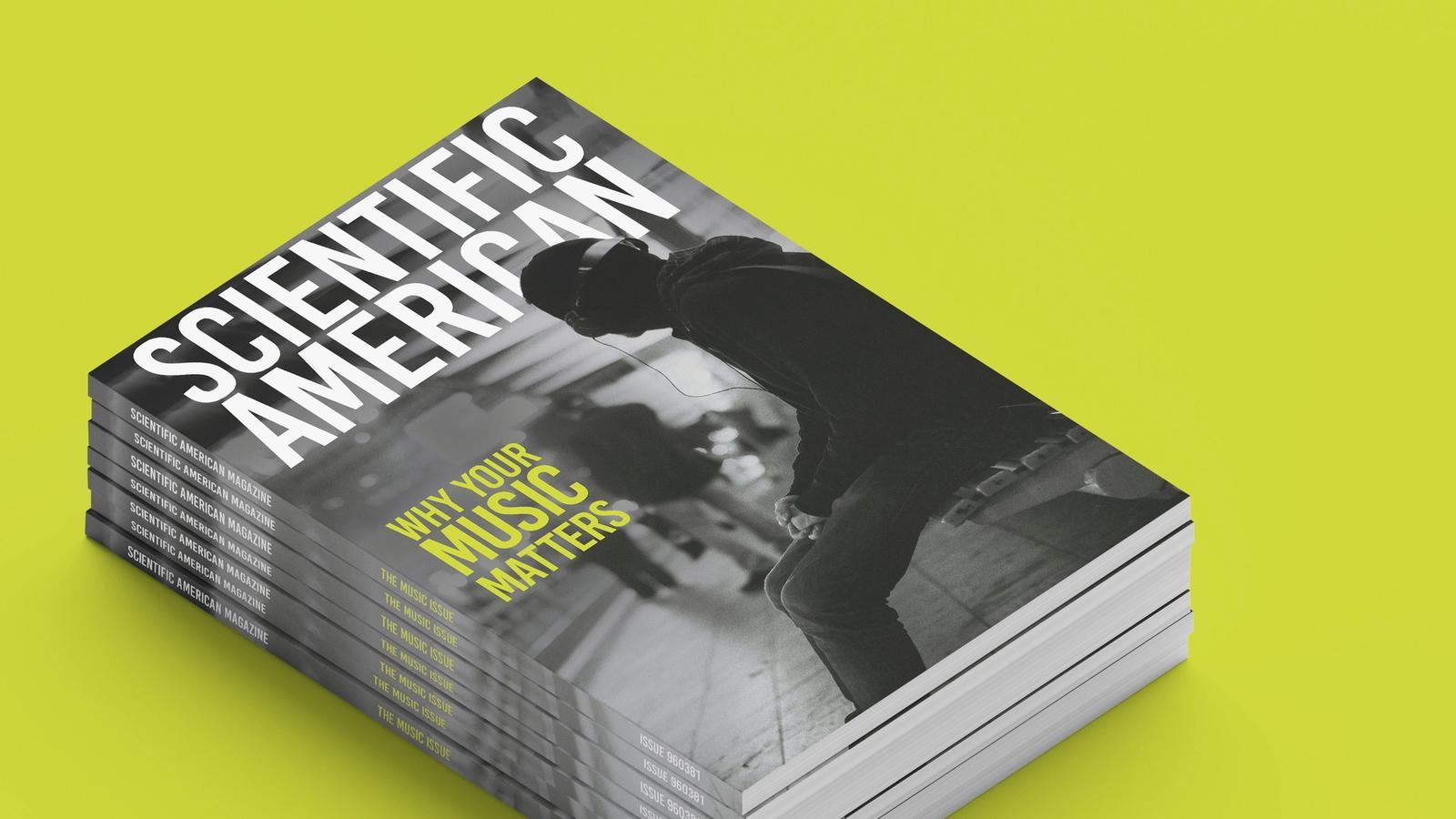 Scientific American publication design