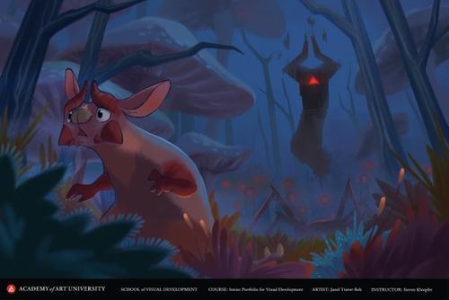 Fern in the Dark Forest