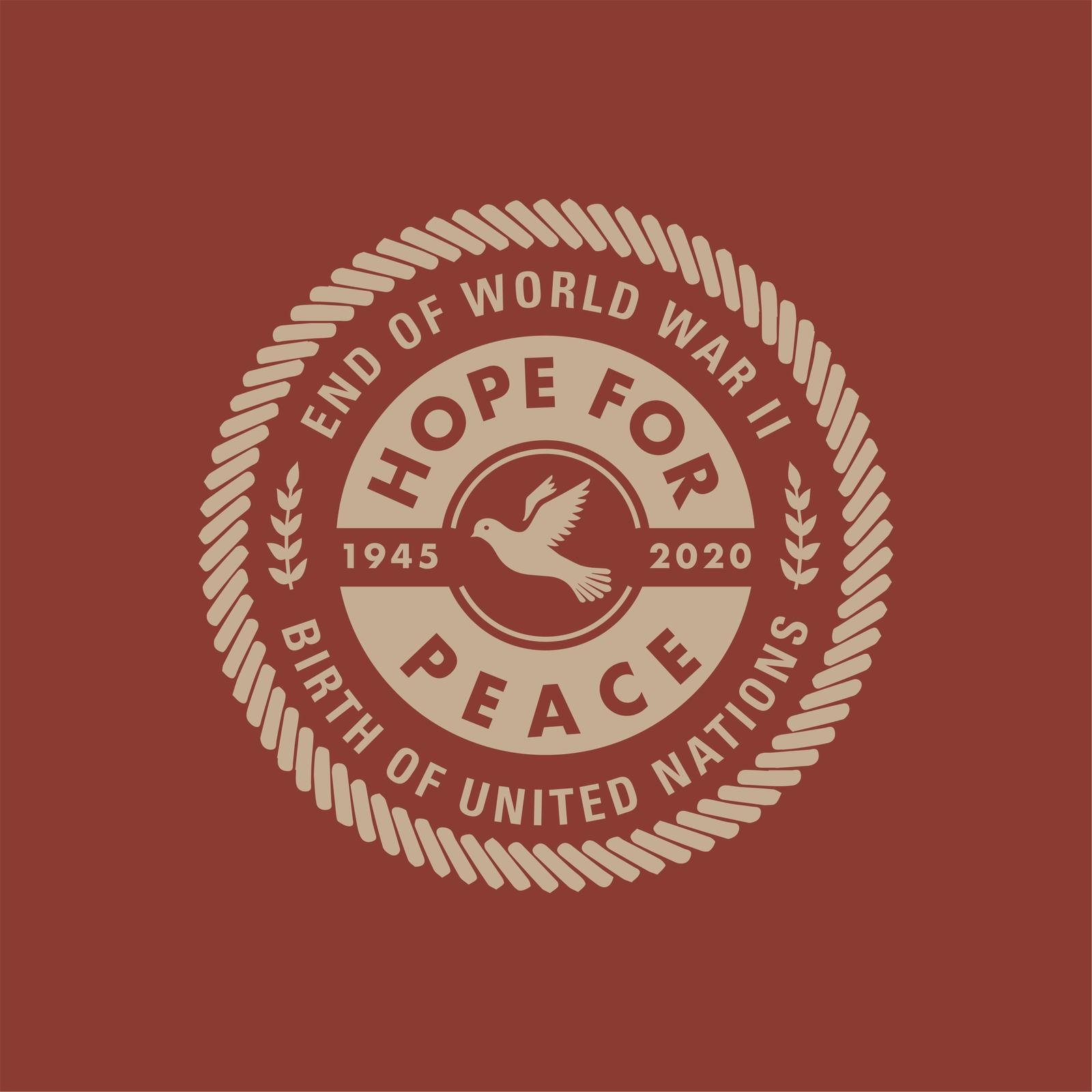 1945: Hope for Peace logo