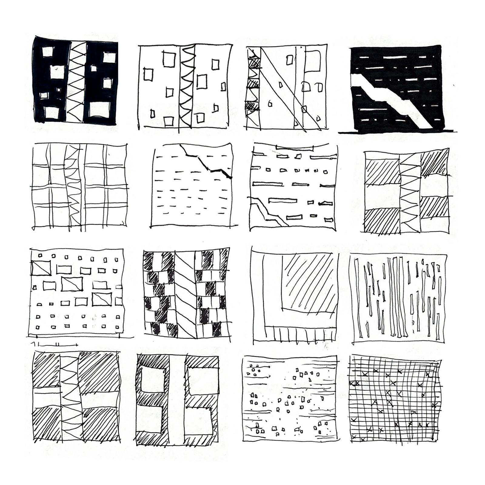Jang Ock Kim design sketches