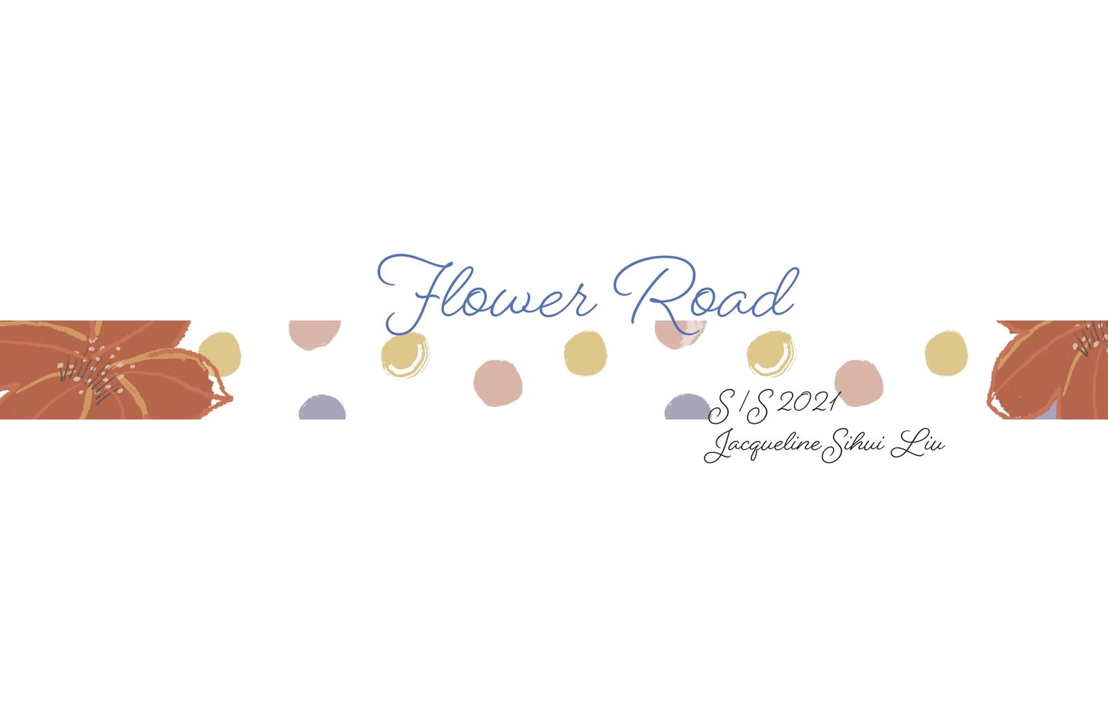 Flower Road Title page