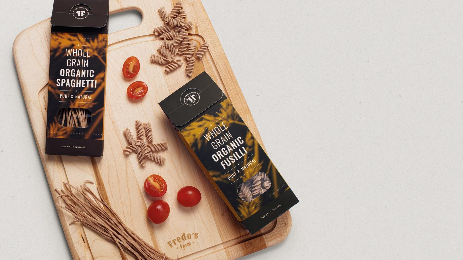 Fredo's Farm // retail food packaging