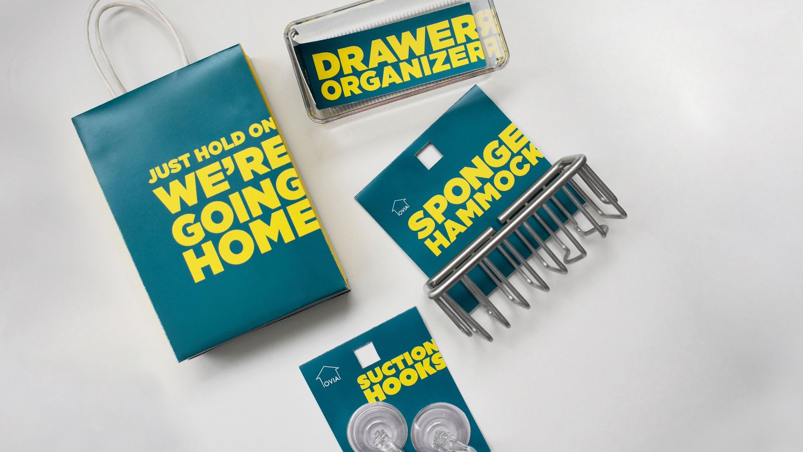 Ovia Home // affordable home organization line for college students