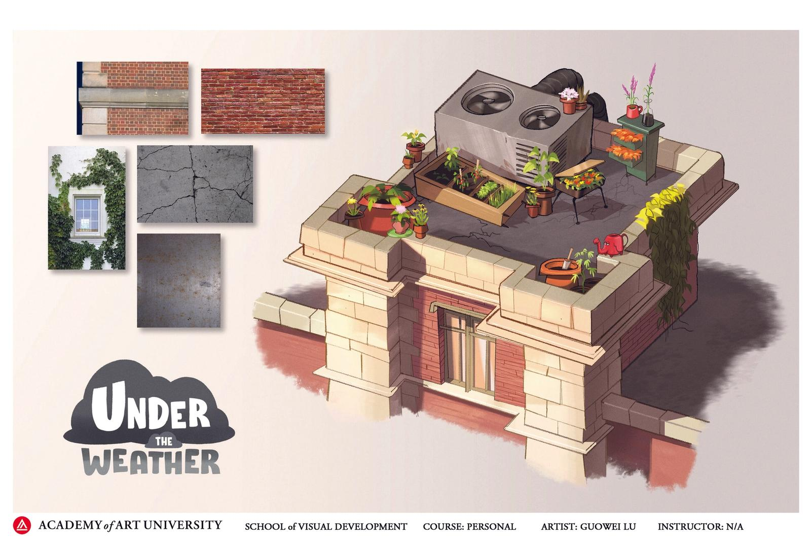 Under the Weather - School Roof Layout