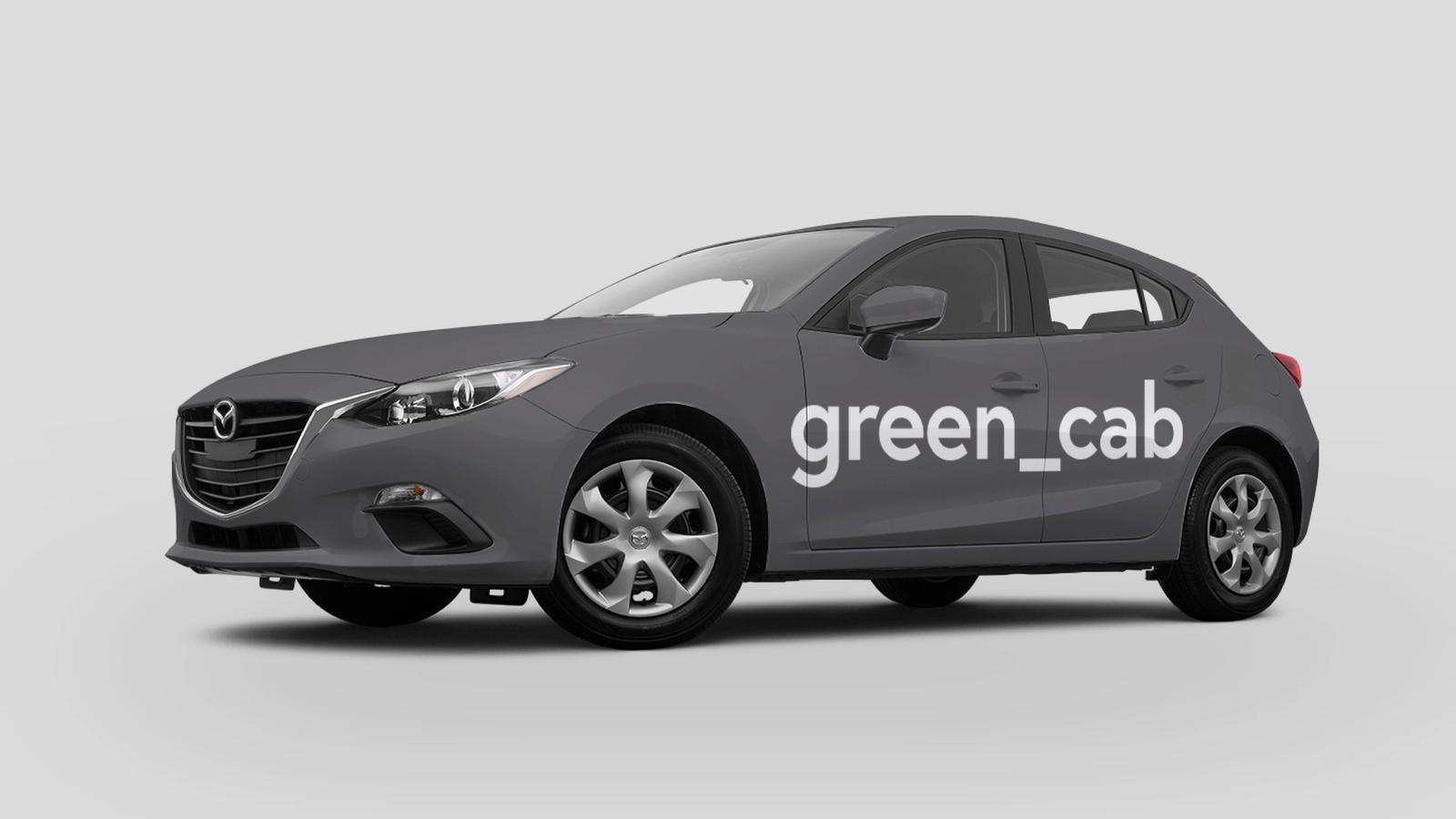 Green Cab // branding system