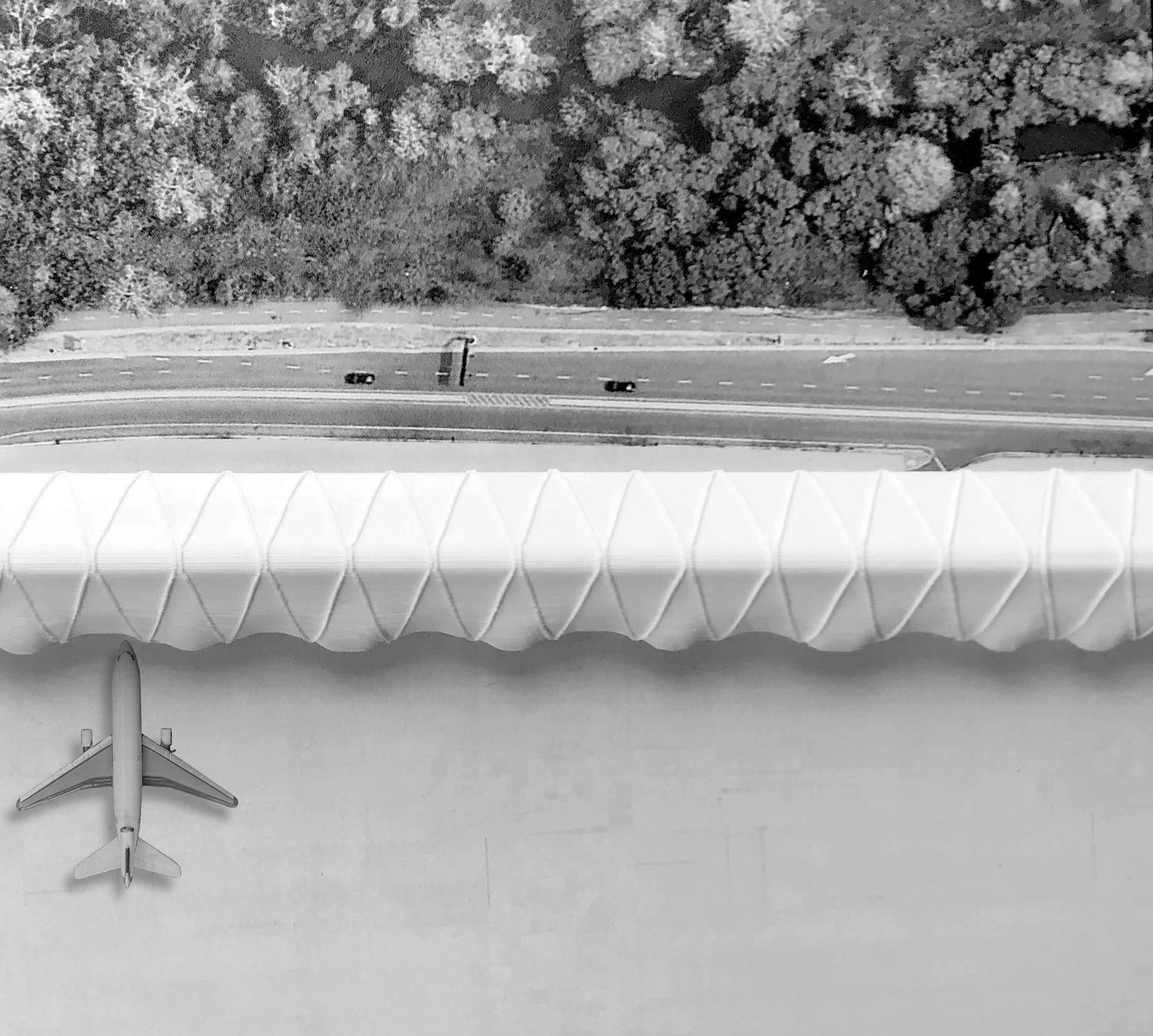 Dana Kaddouh Aviopolis - Model View Terminal Areas