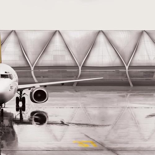 Aviopolis Terminal - Tarmac View
