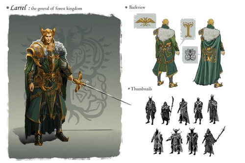 Elven General (1st page)