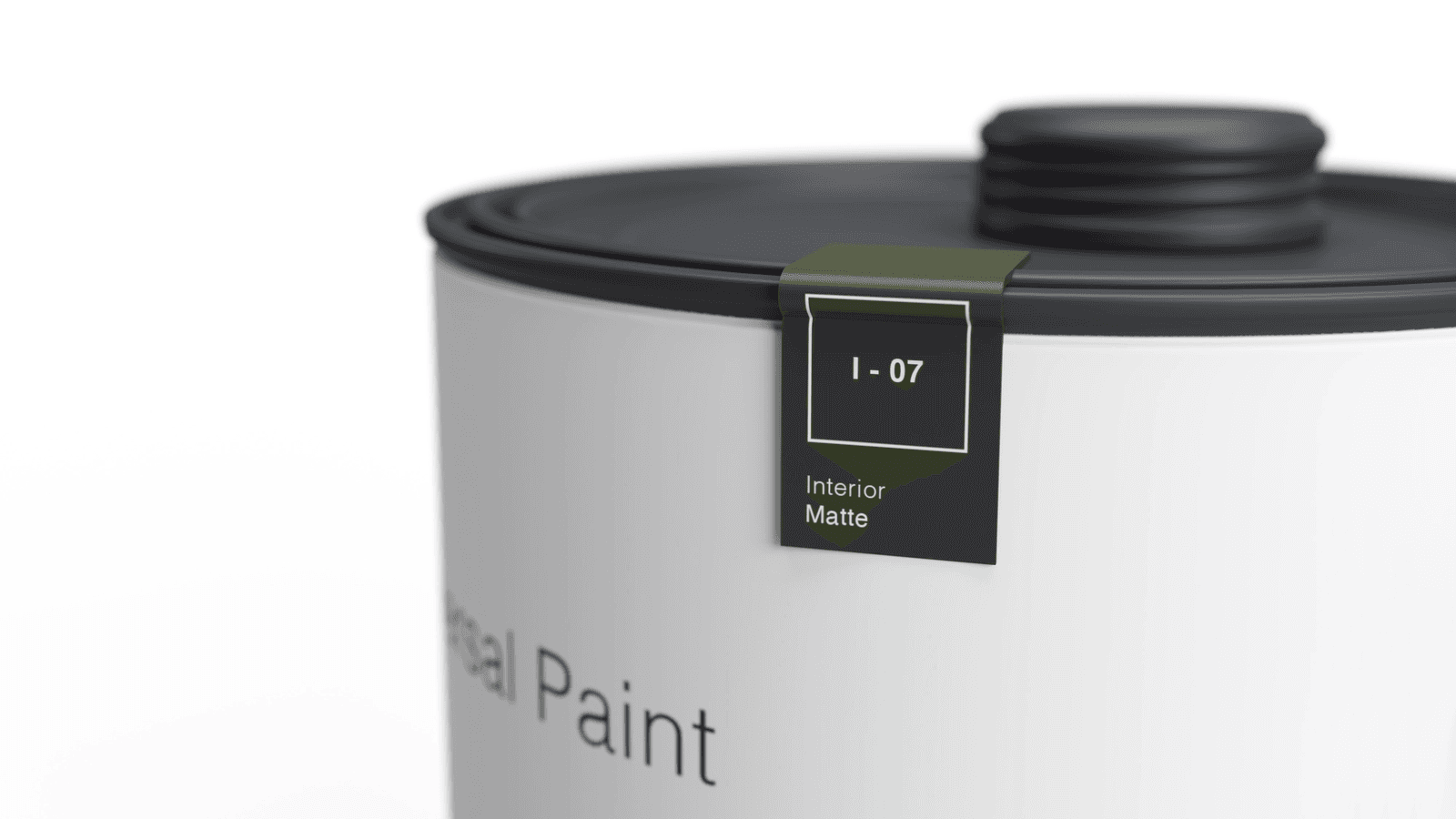 Dieter Rams Universal Paint packaging