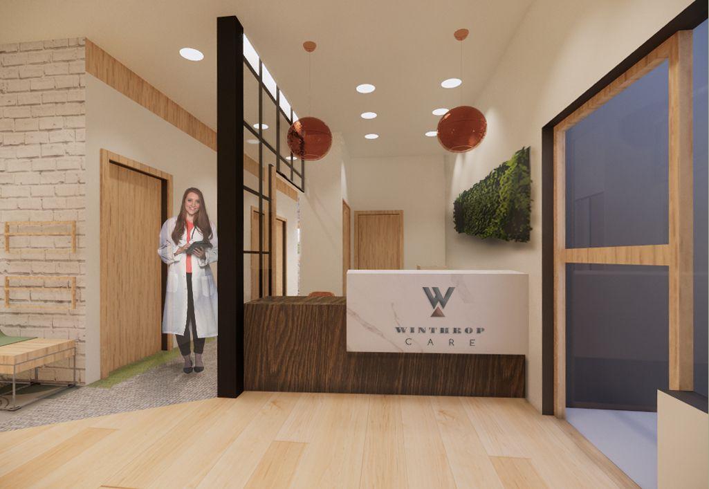 Winthrop Care Medical Office Reception Desk