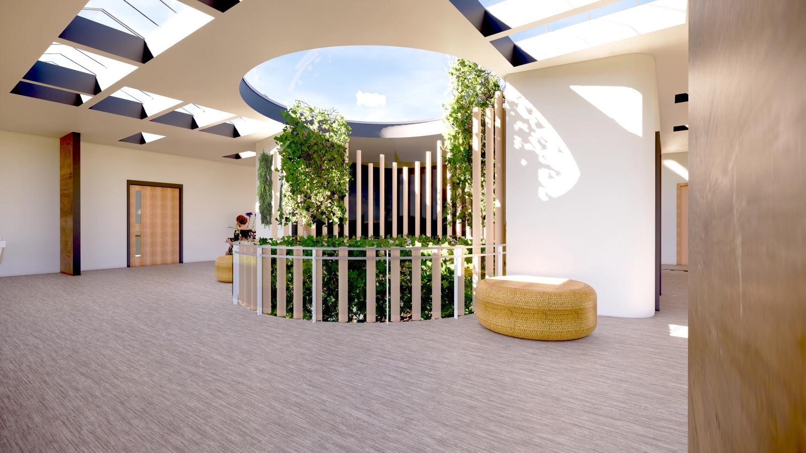 The Hope Community Center Atrium