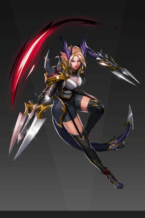 Dragon Assassin Illustration