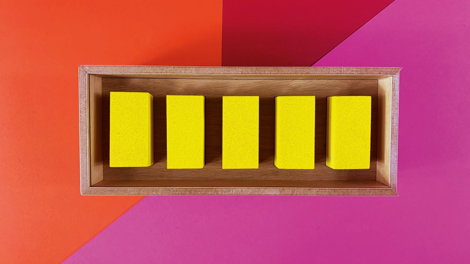 Block powder paint packaging