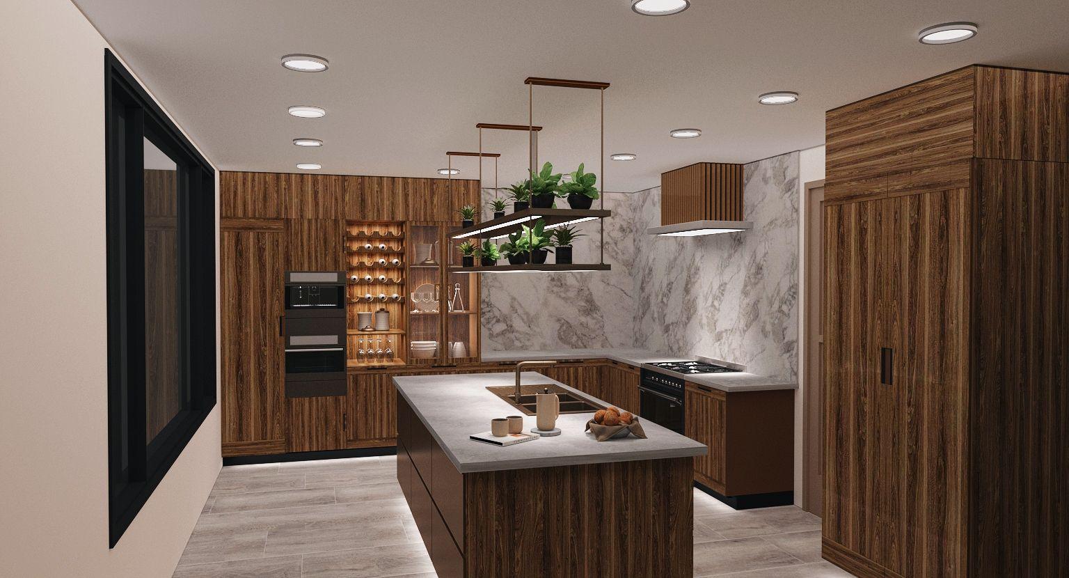 2nd Floor Kitchen Rendering