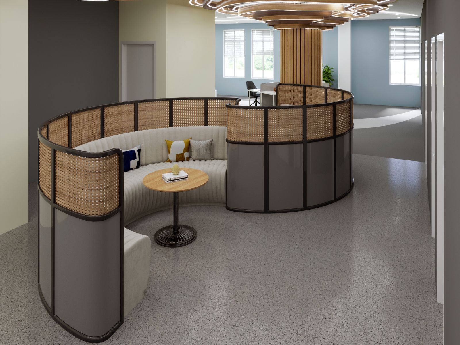 Semi-Private Open Workspace