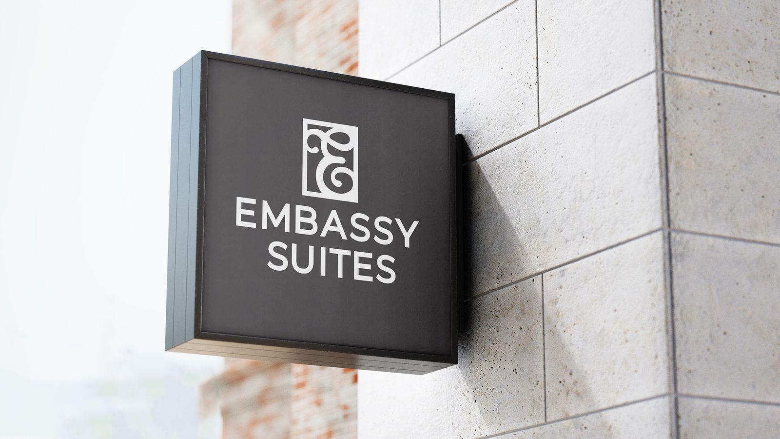 Embassy Suites logo redesign