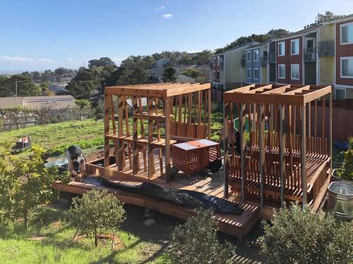 Unity Pavilion for Northridge Cooperative Housing