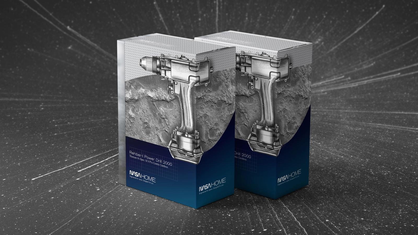 NASA Home product packaging