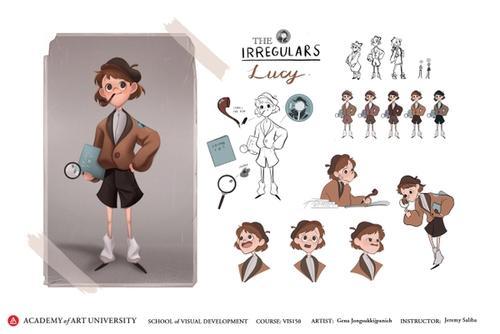 The Irregulars: Lucy