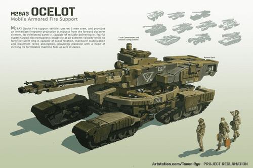 M28A3 Ocelot Tank