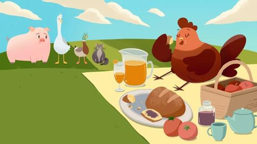 The Little Red Hen Spread