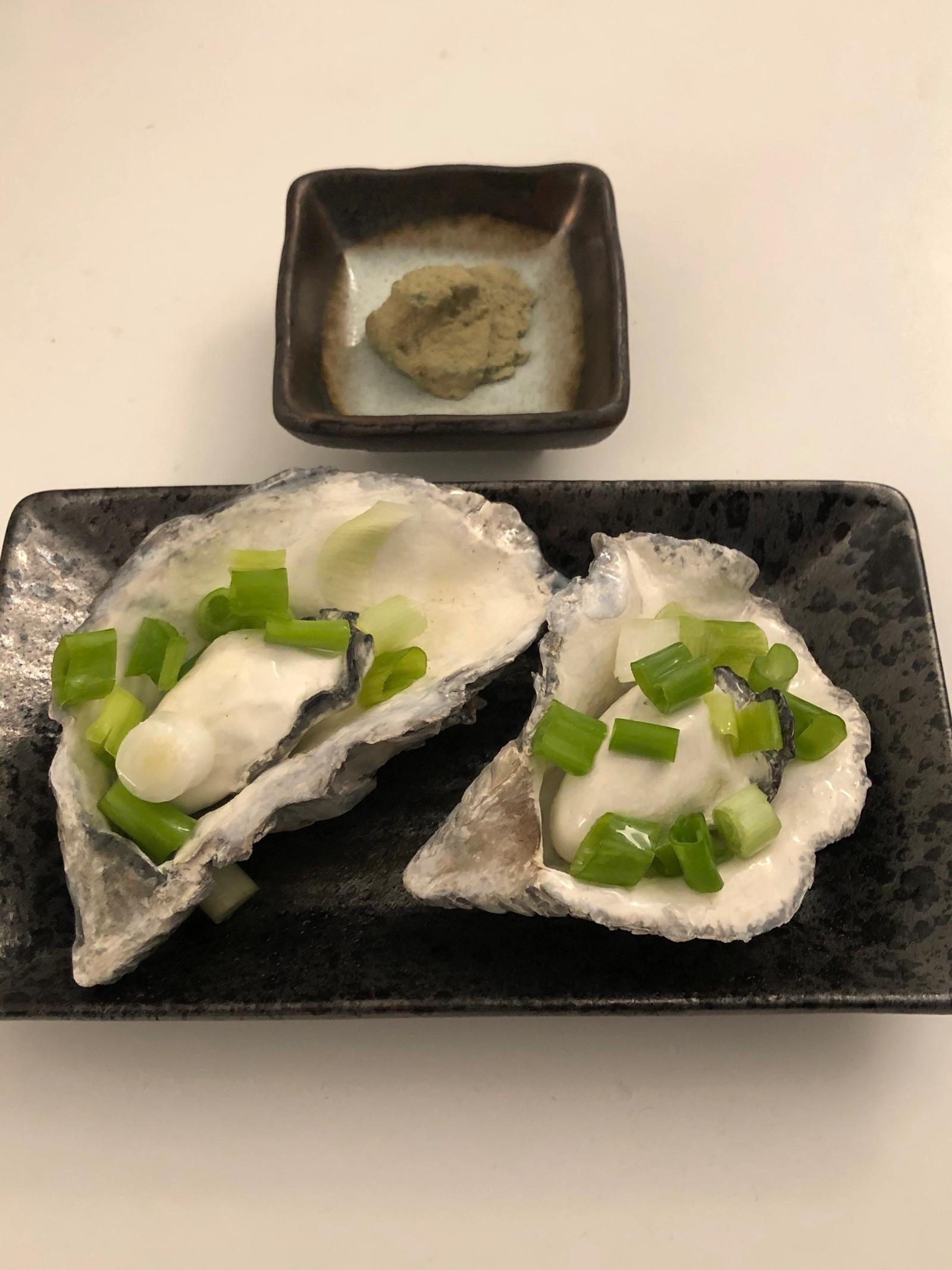 Boiled Oysters