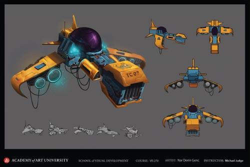 Sci-fi Air Craft
