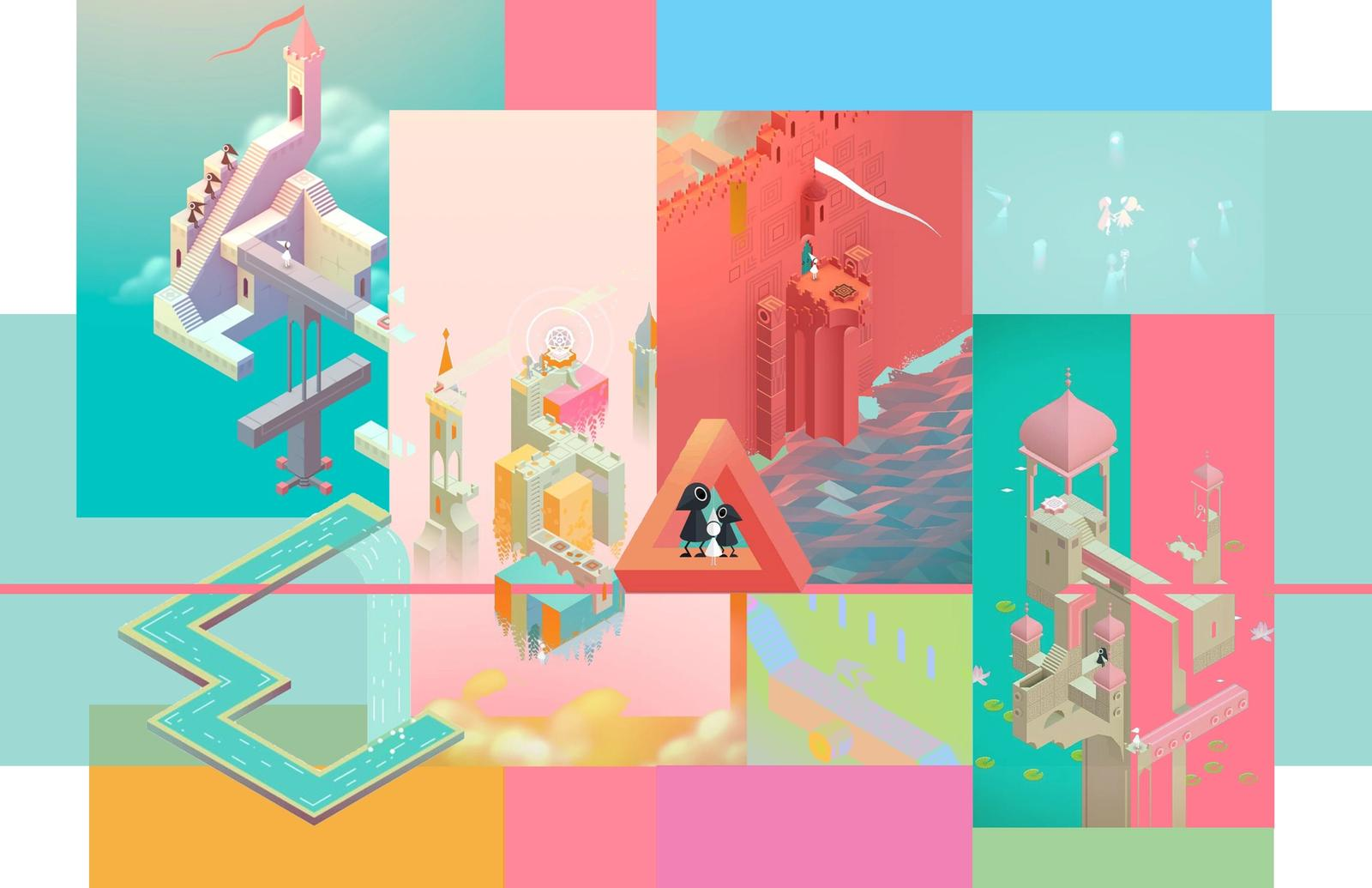 Monument Valley Moodboard
