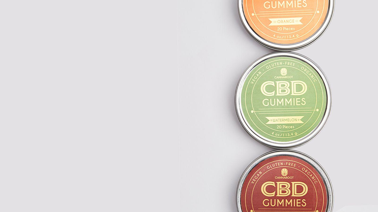 Cannaroot gummies packaging