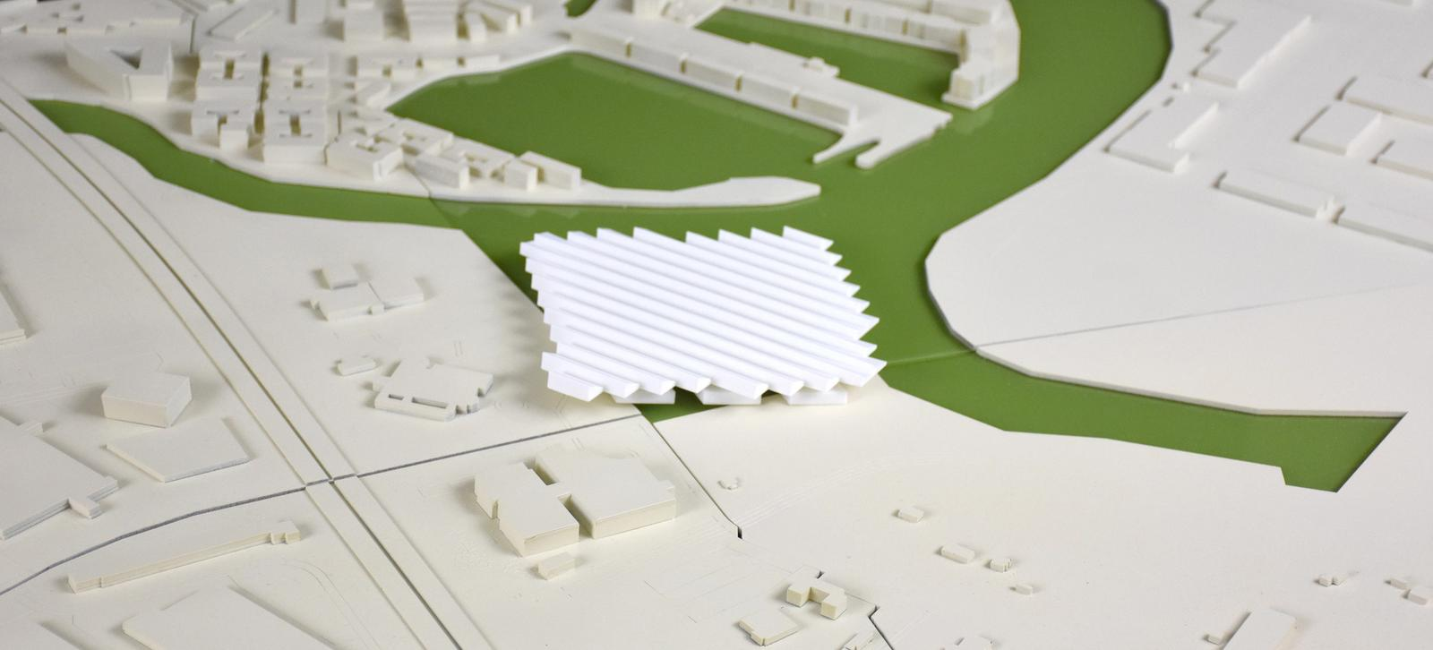 Site Model with Ferry Terminal
