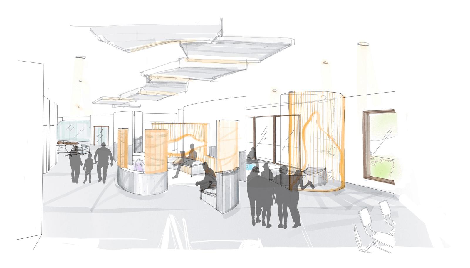 Community Center - Sketch