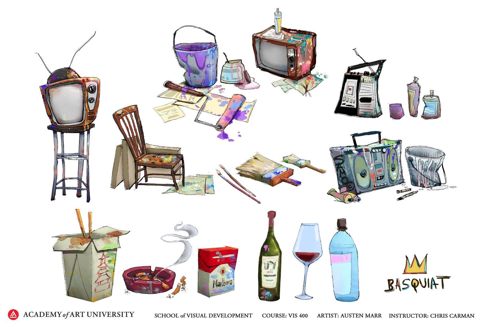 Basquiat's Tools