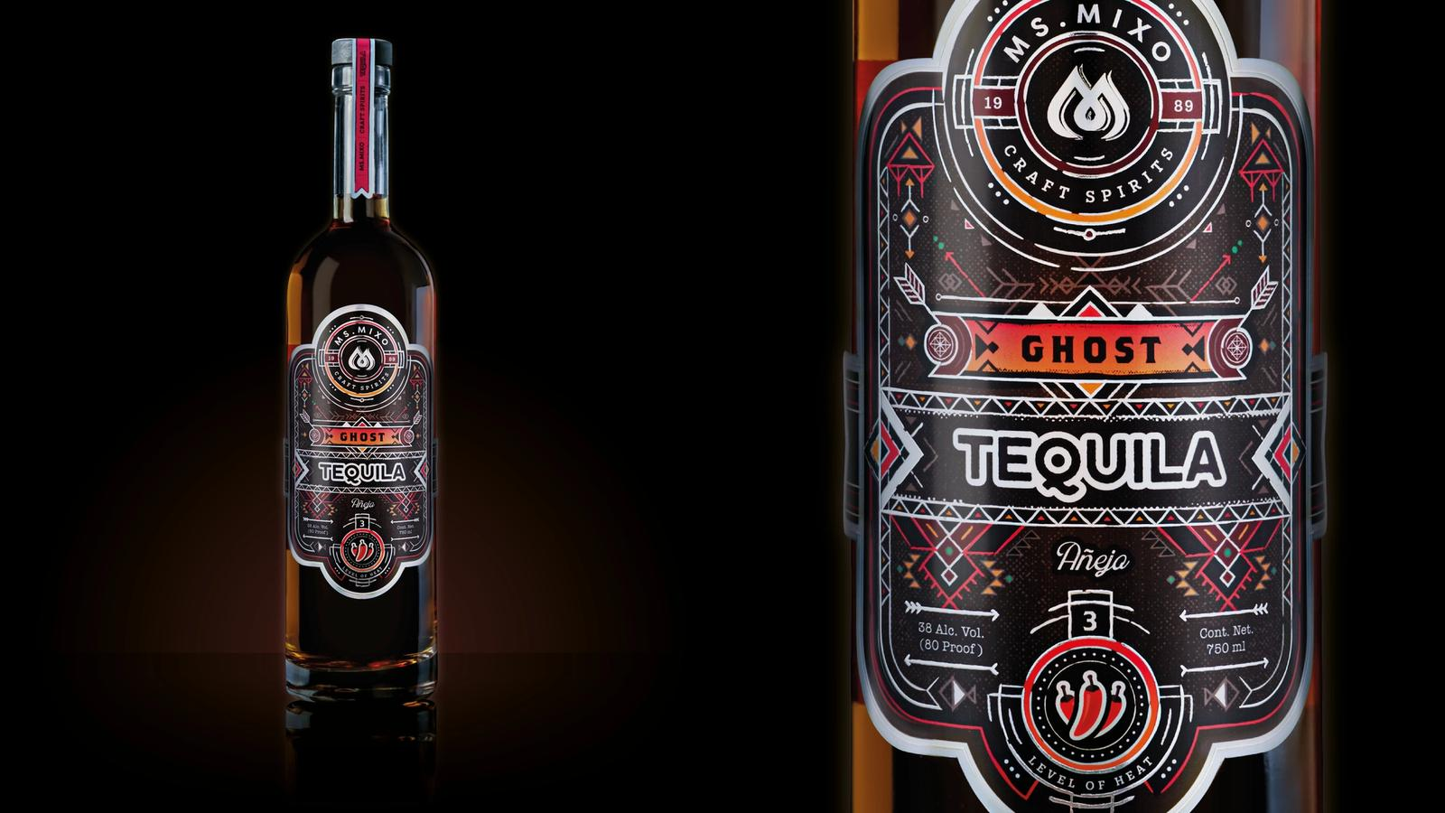 Daredevil // tequila packaging