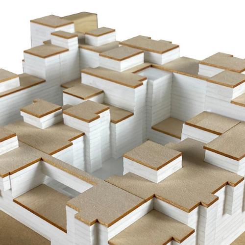 SN Residence Integrated Urban Center Concept Model