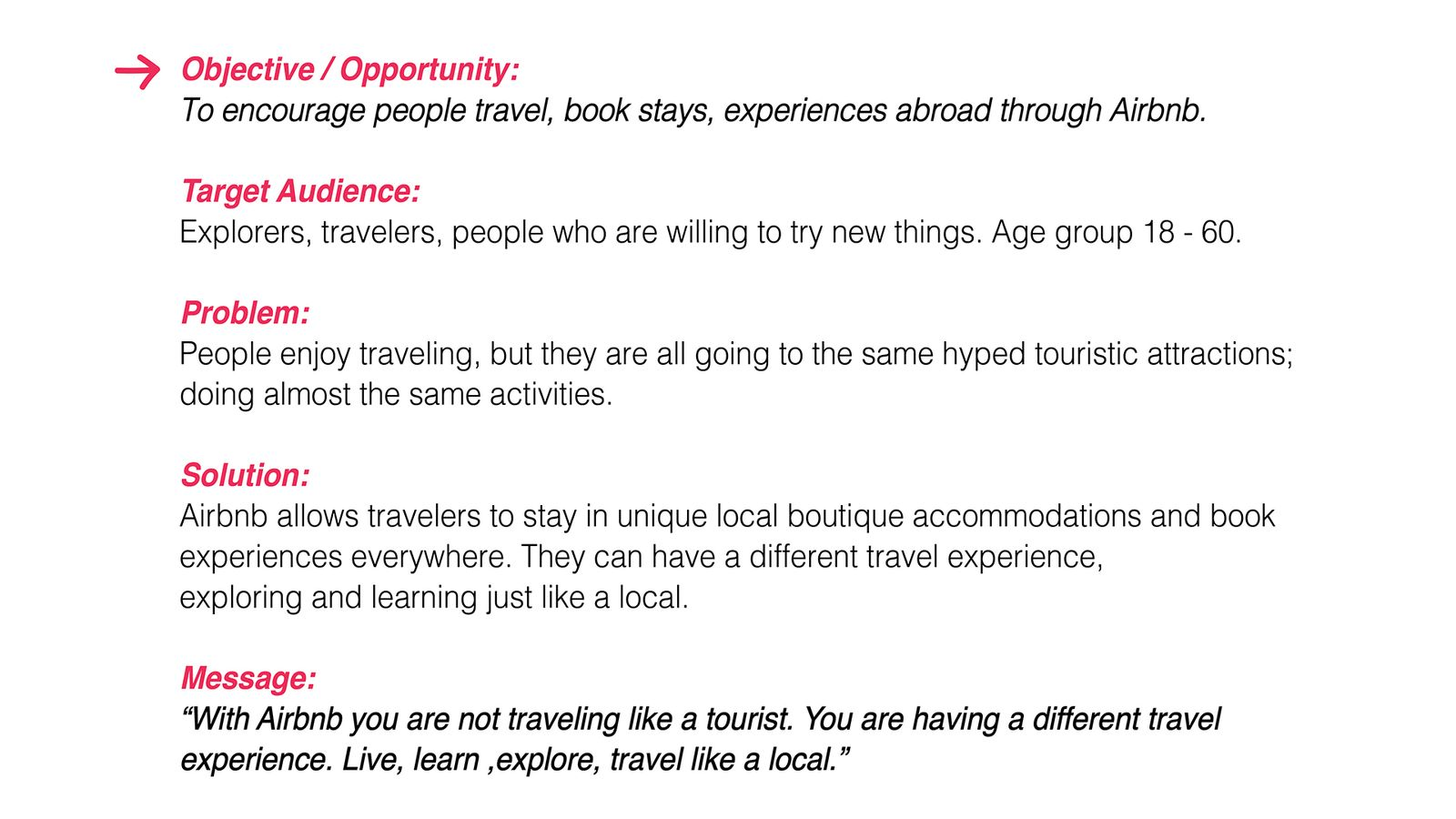 Airbnb - Like a Local