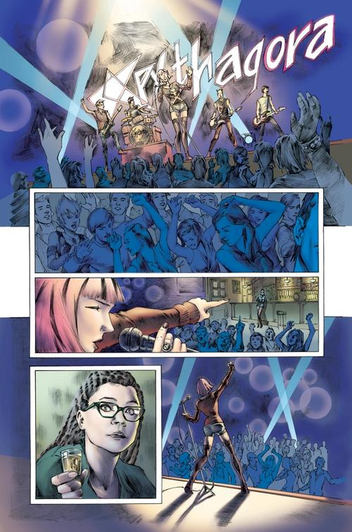 Orphan Black, Issue 4, Page 1